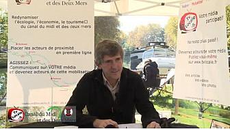 Avenir du Canal du Midi et des Deux Mers: Jean-Michel FABRE président des HLMs 31 et vice-président du CD31 pourrait apporter des solutions #TvLocale_fr