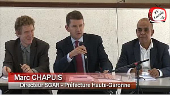 Canal du Midi : Intervention de Marc CHAPUIS @PrefetMidiPy au  Comité de Pilotage à Ayguesvives
