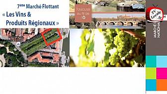 Toulouse : 7ème Marché flottant ce 11 novembre MIN @TlseMetropole #Toulouseaufildelo #cm-Toulouse
