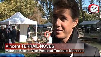 Vincent TERRAIL-NOVES Maire de @VilleBalma parle du Canal du midi #TvLocale_fr