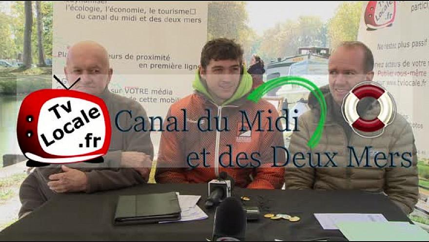 Les Champions de Canoë Kayak Français aiment le Canal du Midi #TvLocale_fr